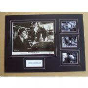 Kirk Douglas Signed & Mounted Photo Set  Last Train from Gun Hill
